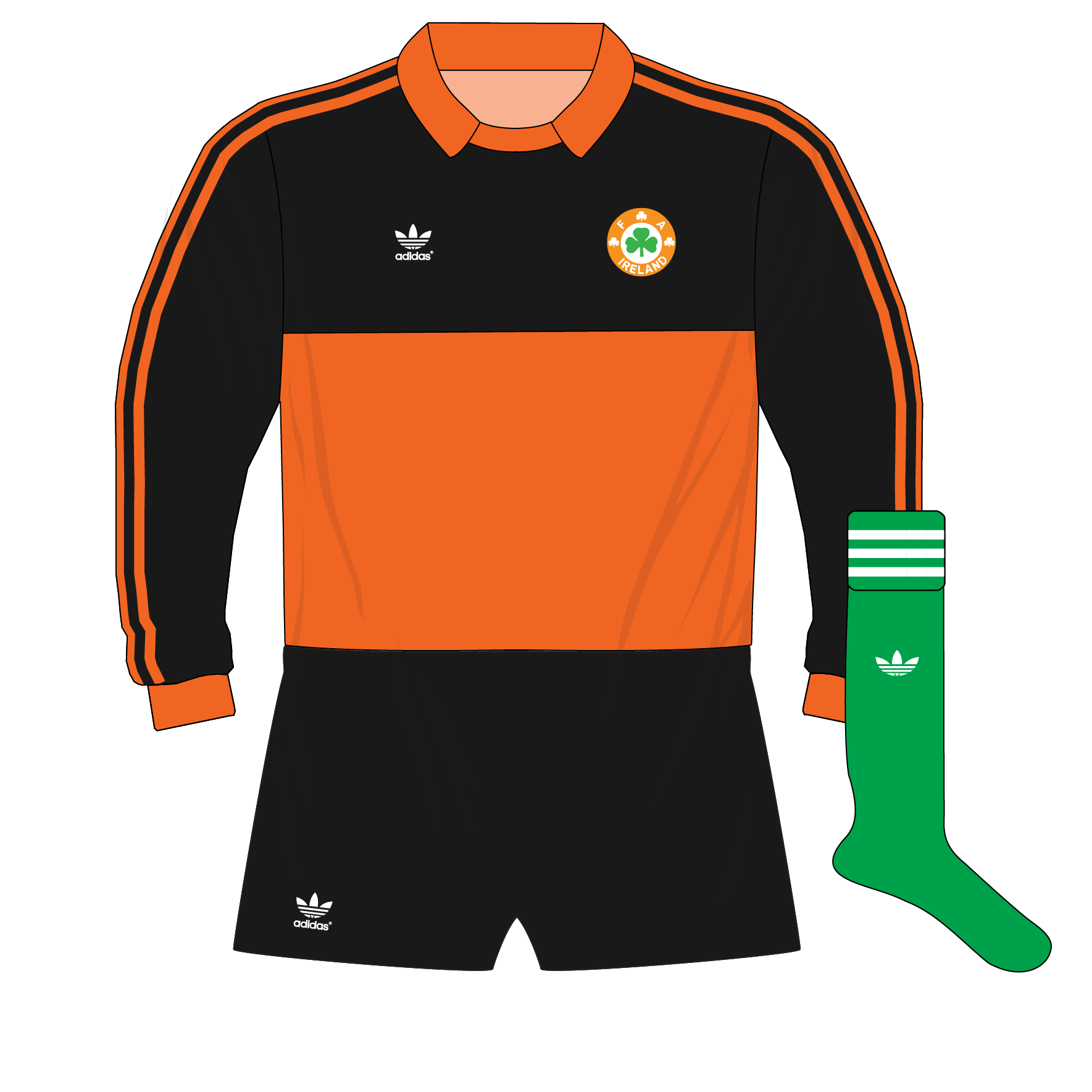 The evolution of adidas goalkeeper shirt designs – Part 1 – Museum of  Jerseys 38632b079666