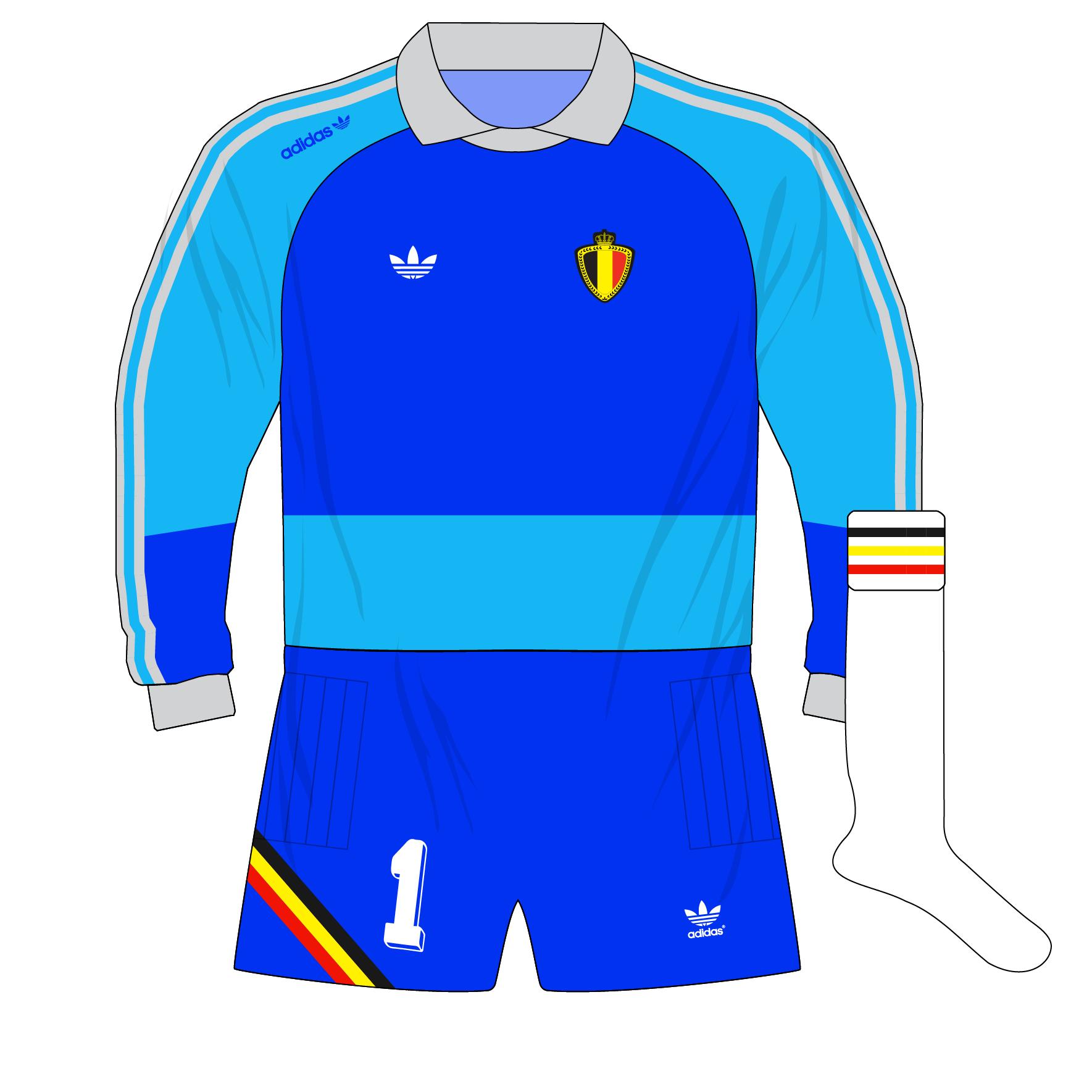 ec011e935 adidas-belgium-blue-goalkeeper-shirt-jersey-1990-preudhomme – Museum ...