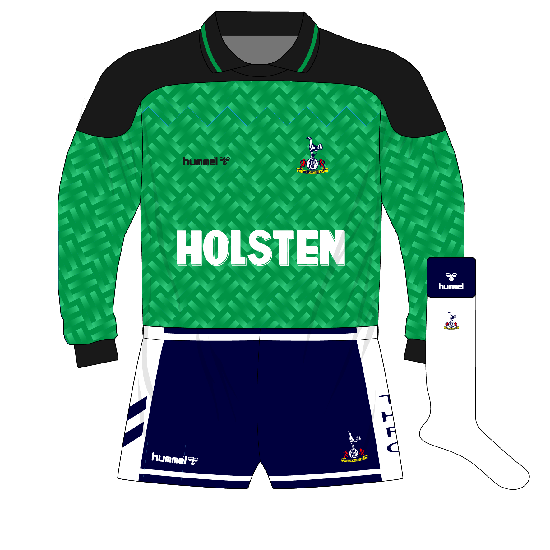4190263e47c tottenham-hotspur-spurs-hummel-1989-1991-green-goalkeeper-shirt-thorstvedt-holsten  - Museum of Jerseys (1769x1769)