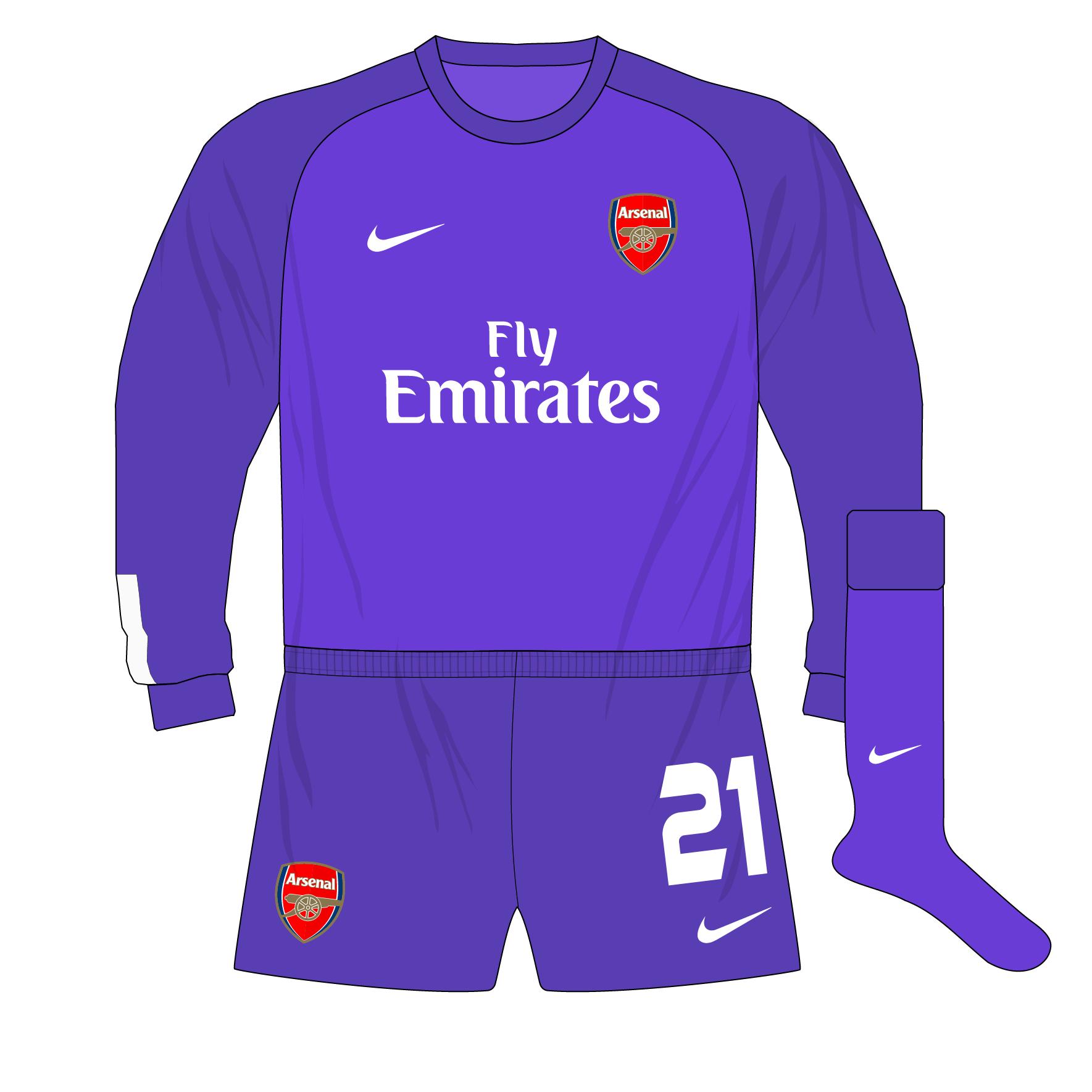 18b125a43e4 Arsenal-Nike-2013-2014-purple-goalkeeper-shirt-kit-Fabianski-01 ...