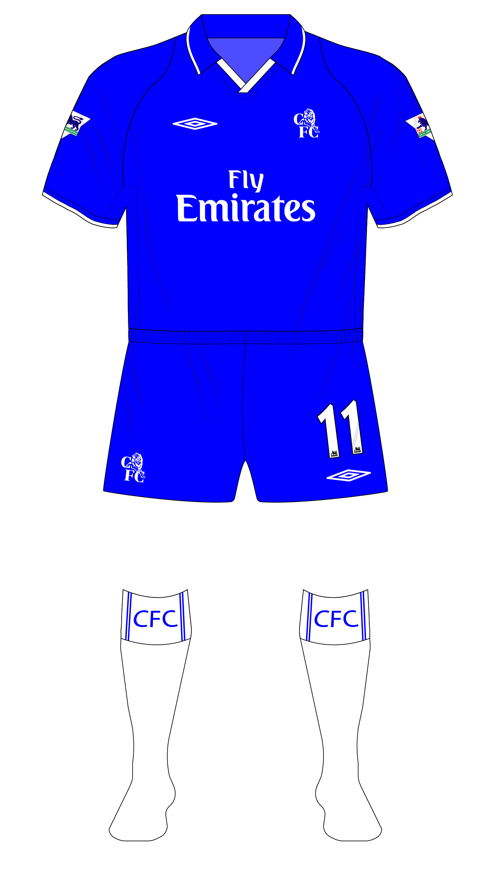 purchase cheap a0445 0d7e2 Chelsea-2001-2003-Umbro-home-kit-shirt-01 – Museum of Jerseys