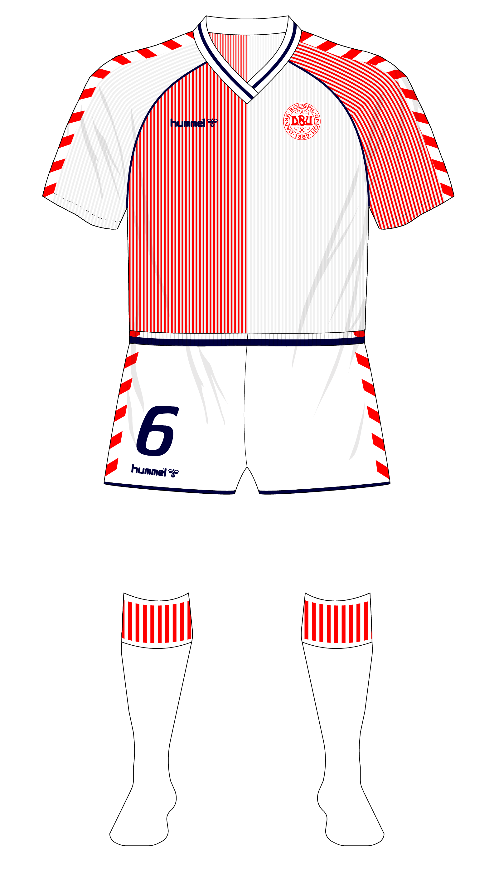 Midweek Mashup – Denmark at the 1986 World Cup – Museum of Jerseys 62b734624