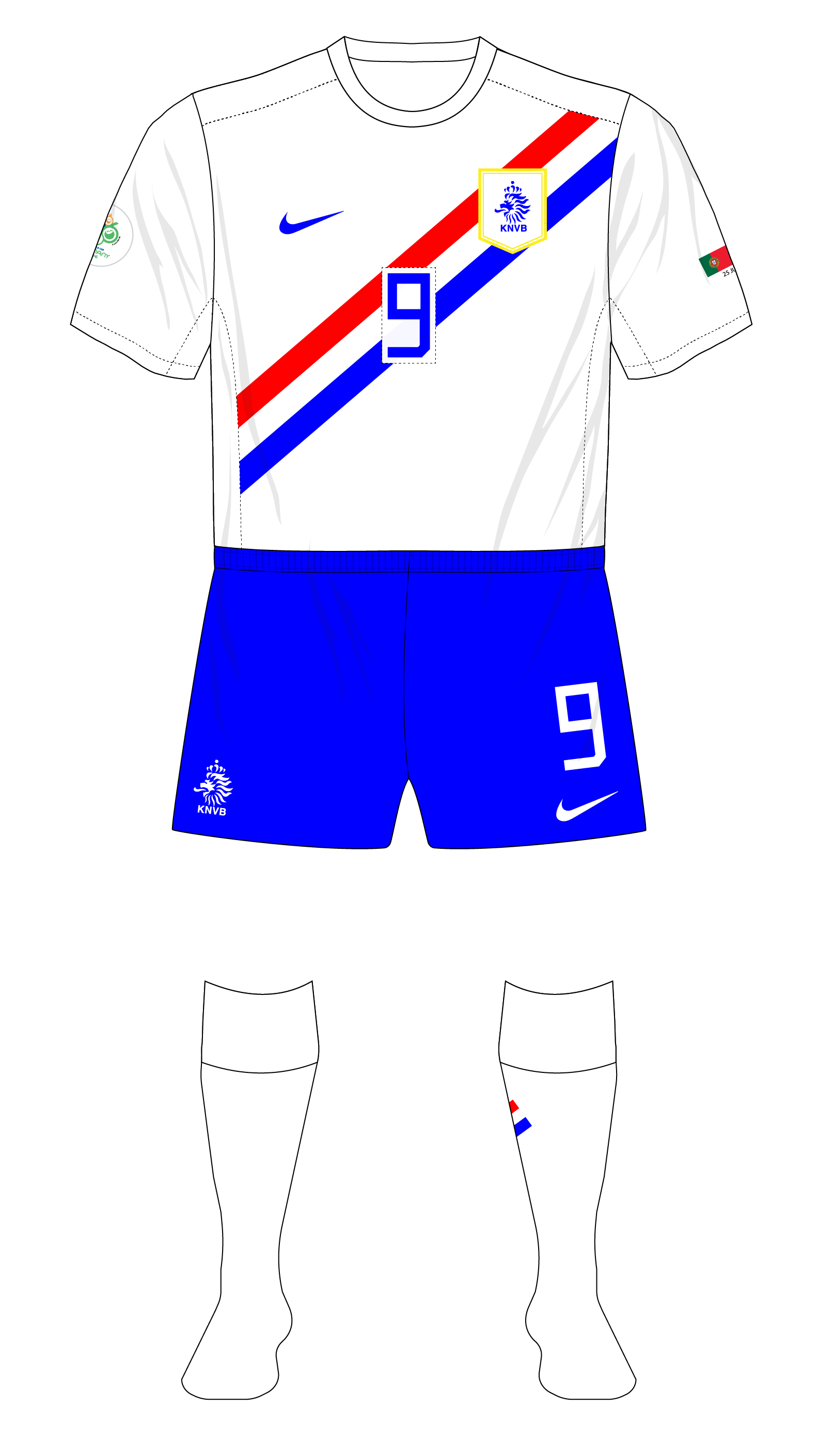 754354d3e World Cup Classics no. 3 – Netherlands change kit