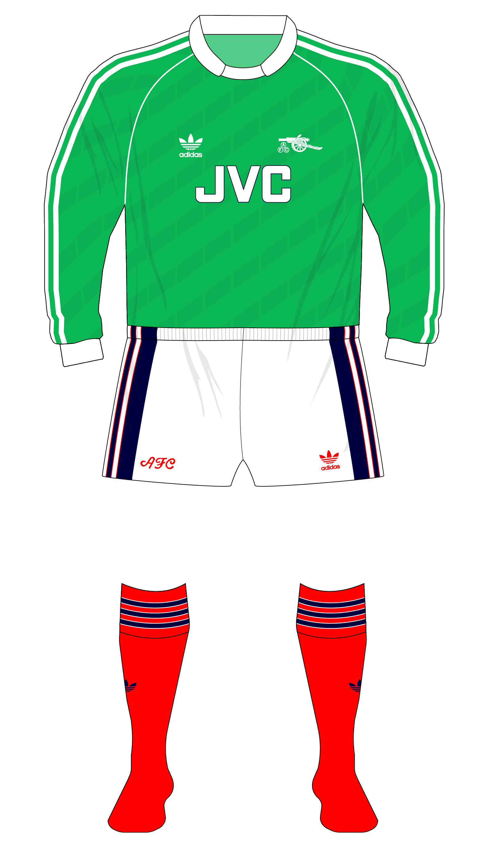 3042a01dd Arsenal-1989-1990-adidas-goalkeeper-shirt-Lukic-01 – Museum of Jerseys