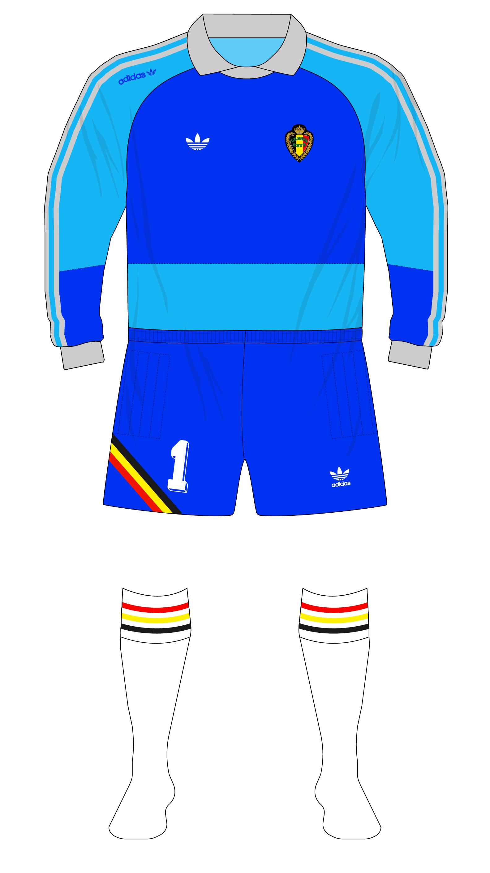 2676c8262 Belgium-1990-adidas-goalkeeper-shirt-World-Cup-Preud homme-blue-01 ...