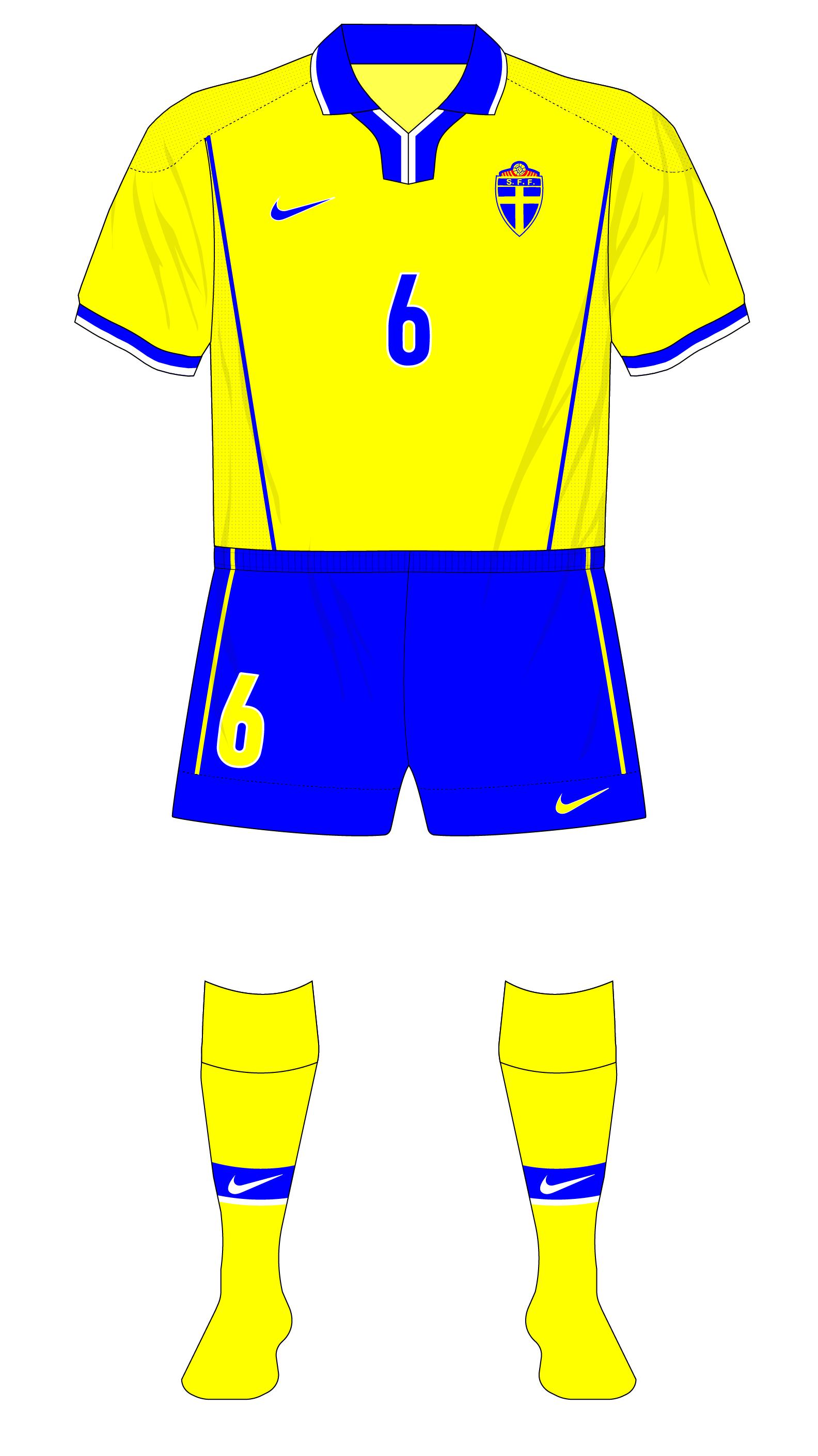 real mejor valorado precio más bajo con Zapatillas 2018 Fantasy Kit Friday – Sweden in the Netherlands' 1998 Nike style ...