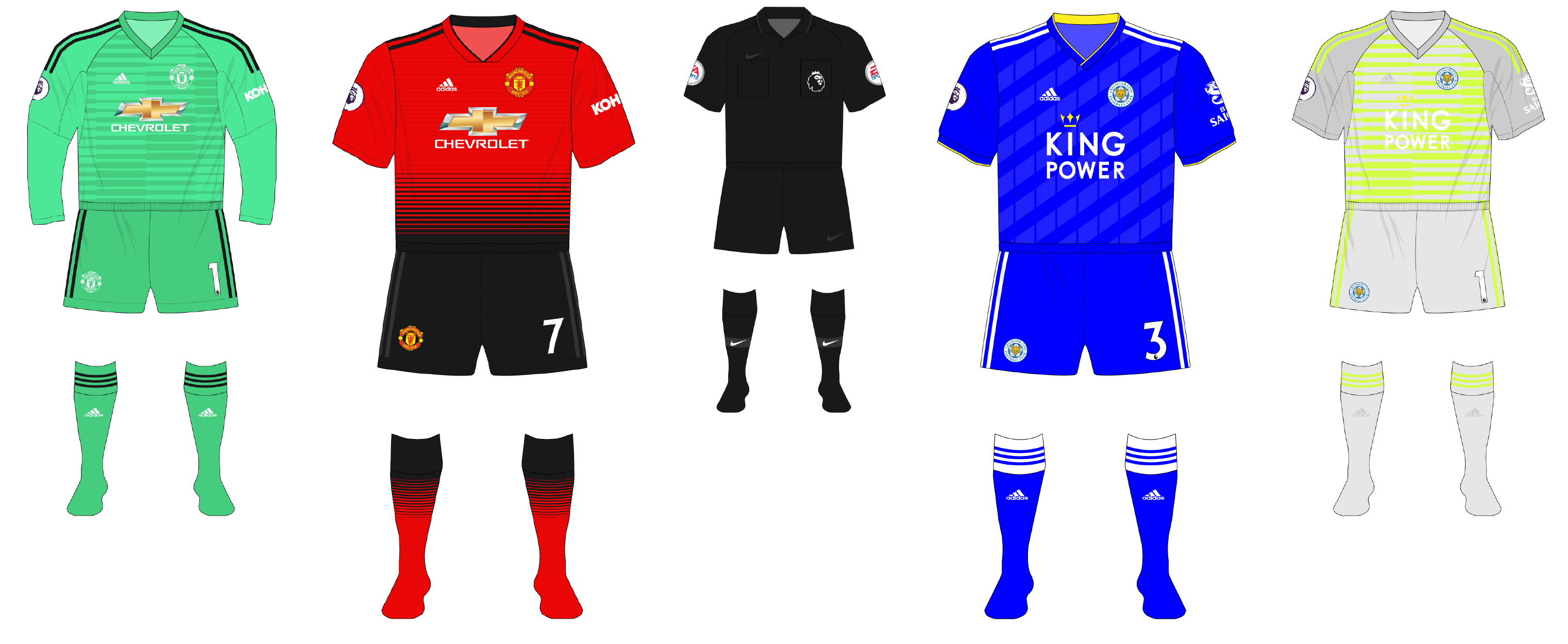 b73738c42 Premier League 2018-19 kit-tracker – Gameweek 1 – Museum of Jerseys