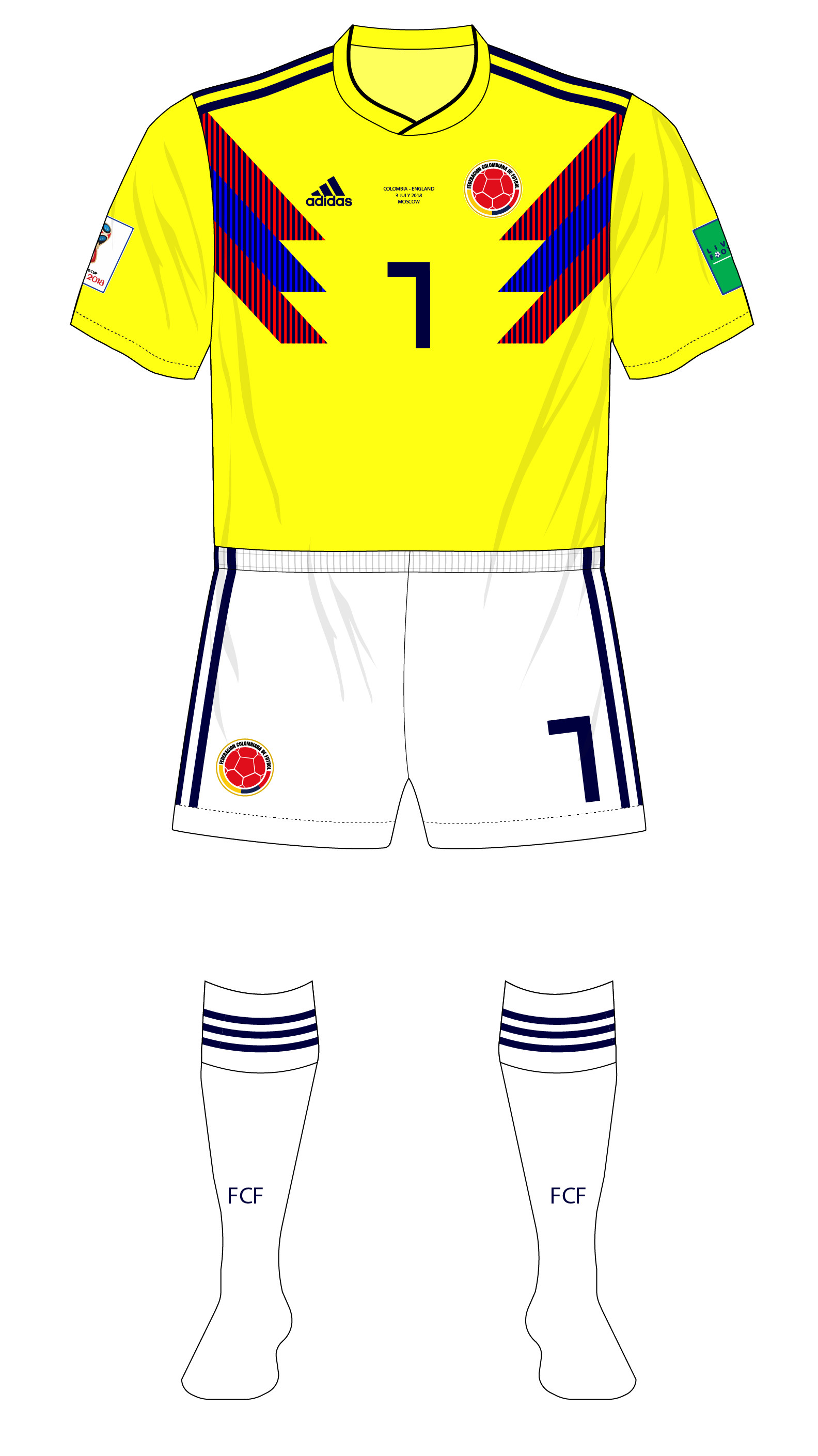 cdeae8c123 Colombia adidas camiseta copa mundial england museum of jerseys png  1584x2820 Camisetas adidas copa mundial